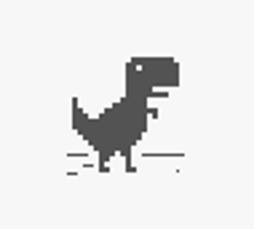 Chrome Dinosaur No Internet
